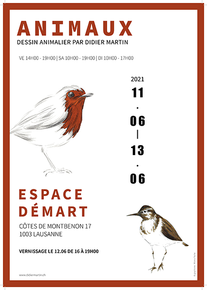 affiche expo, expo did, expo animaux, animaux